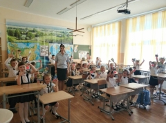Из-за ОРВИ занятия в школе №10 временно прекращены