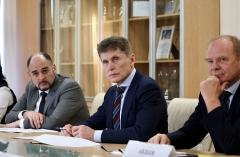 Предприниматели Приморья дали Губернатору предложения по поставкам продукции местного производства в торговые сети