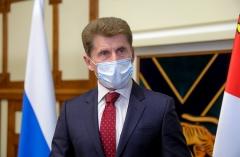 Олег Кожемяко: Послабление карантина возможно в отдельных районах Приморья уже на следующей неделе