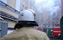 Если в доме произошел пожар