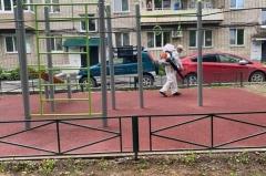 Дезинфекцию общественных пространств проверяет административная комиссия в Артёме