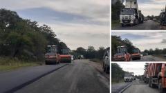 В селе Ясное ремонтируют дорогу