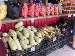 На ярмарках Артёма обновился сезонный ассортимент овощей