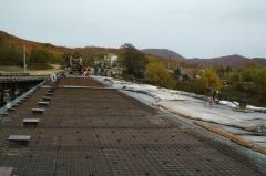 Строительство моста через реку Шкотовка продолжается в Приморье