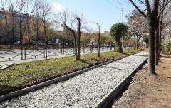 В Артёме продолжают ремонтировать тротуары