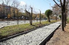 Ремонт тротуаров завершают в Артеме