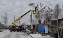 Электроснабжение восстанавливают в Артёме