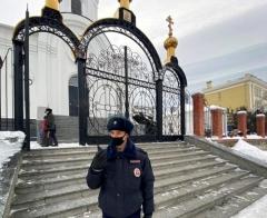 Полиция Артема обеспечивает безопасность в дни крещенских праздников