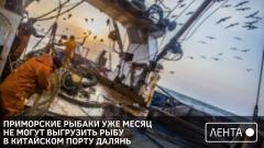 Приморские рыбаки уже месяц не могут выгрузить рыбу в китайском порту Далянь